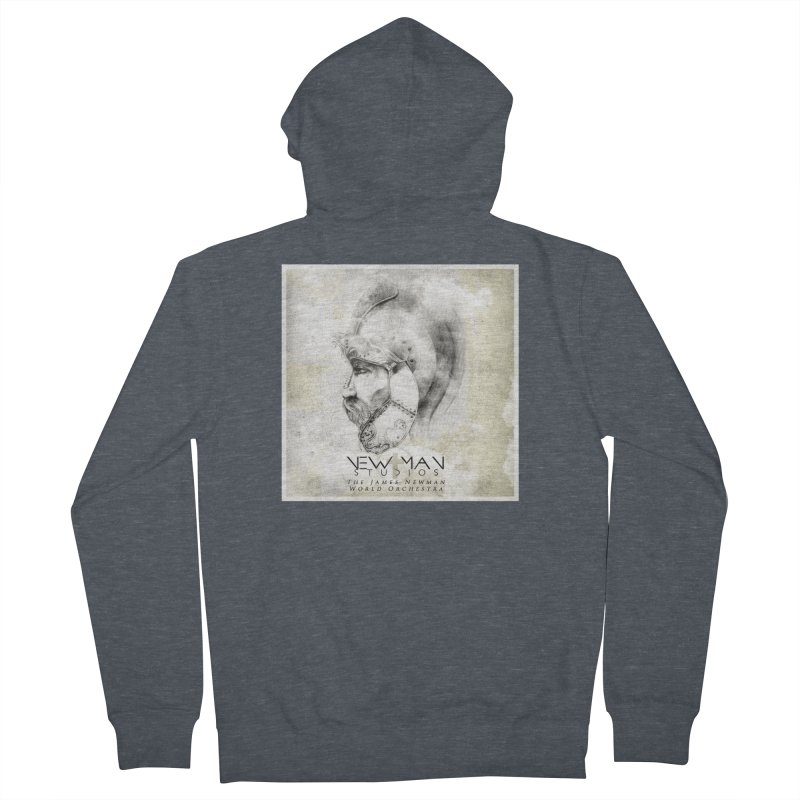 New Man Studios World Orchestra Women's French Terry Zip-Up Hoody by NewManStudios's Artist Shop