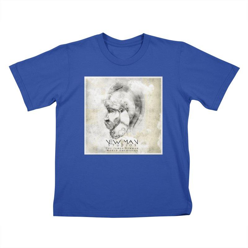 New Man Studios World Orchestra Kids T-Shirt by NewManStudios's Artist Shop