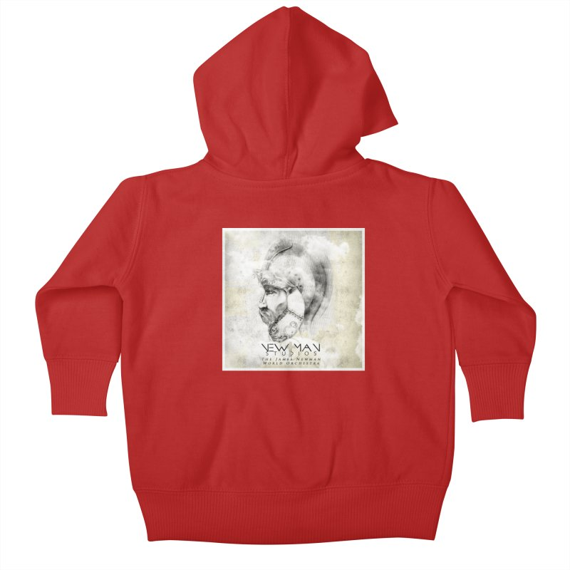 New Man Studios World Orchestra Kids Baby Zip-Up Hoody by NewManStudios's Artist Shop