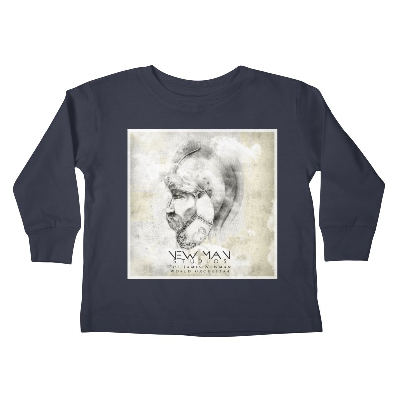 New Man Studios World Orchestra Kids Toddler Longsleeve T-Shirt by NewManStudios's Artist Shop