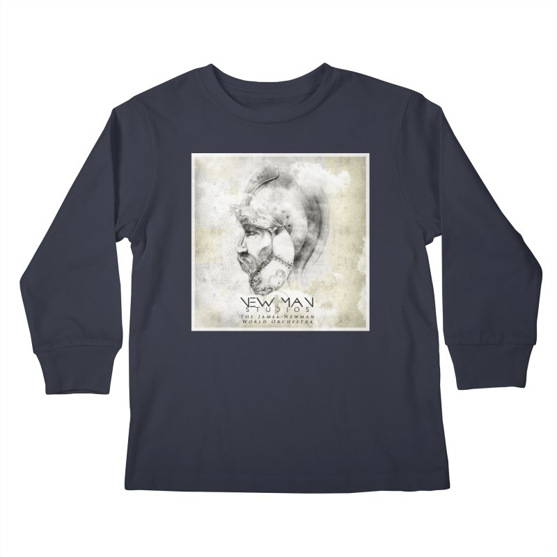 New Man Studios World Orchestra Kids Longsleeve T-Shirt by NewManStudios's Artist Shop