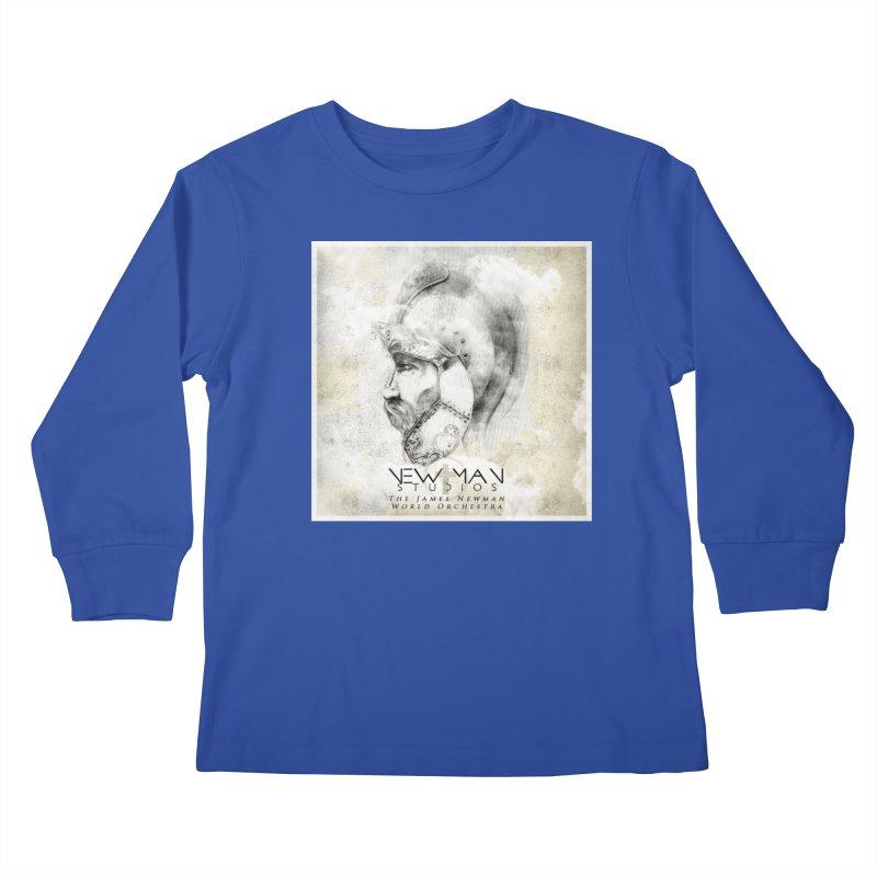 New Man Studios World Orchestra Kids Longsleeve T-Shirt by NewManStudios's Artist Shop