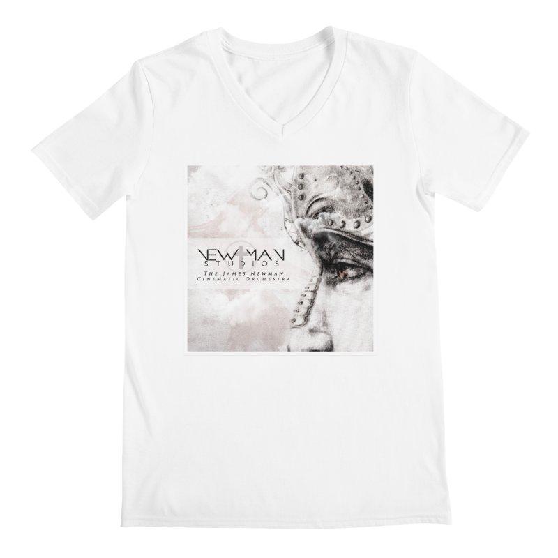New Man Studios Cinematic Orchestra Men's Regular V-Neck by NewManStudios's Artist Shop