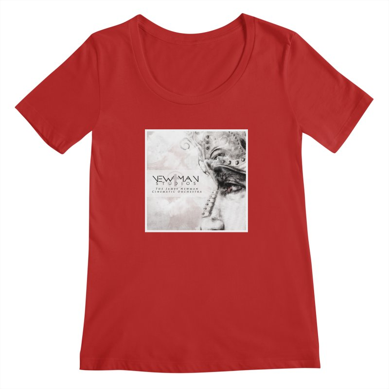 New Man Studios Cinematic Orchestra Women's Scoopneck by NewManStudios's Artist Shop