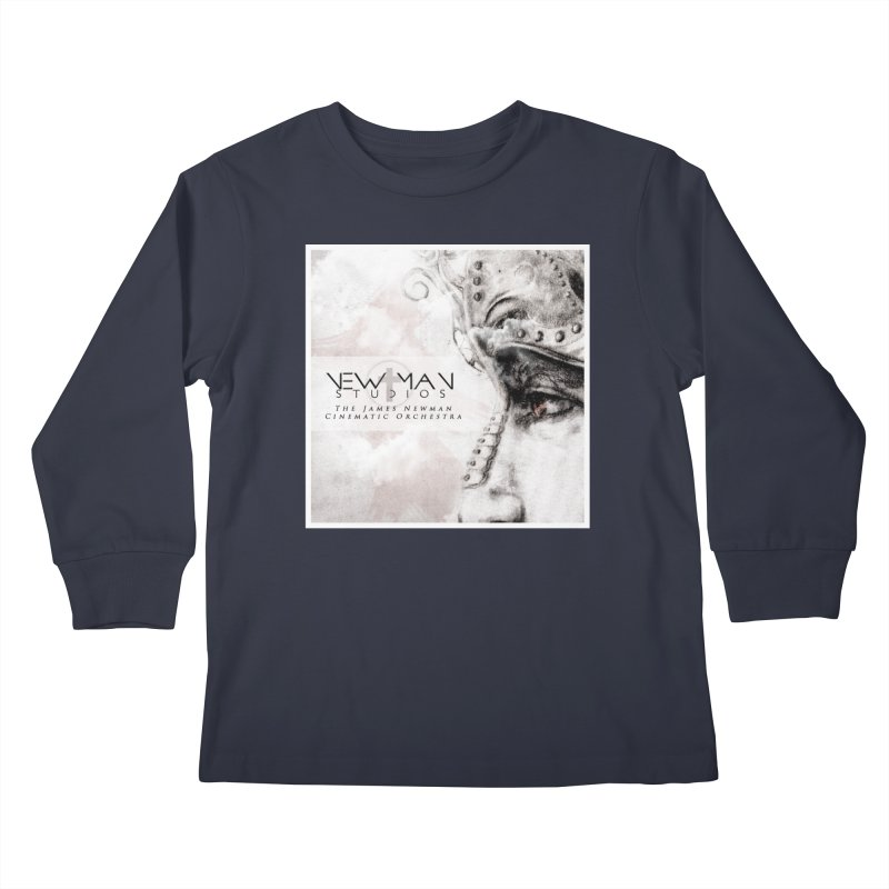 New Man Studios Cinematic Orchestra Kids Longsleeve T-Shirt by NewManStudios's Artist Shop