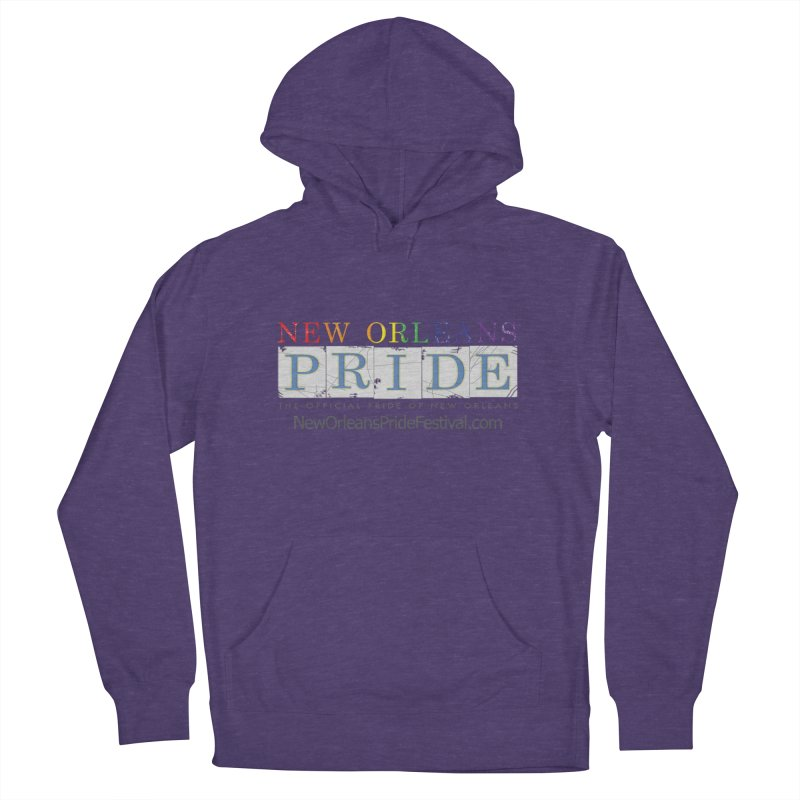 New Orleans Pride Logo ™ Women's French Terry Pullover Hoody by New Orleans Pride