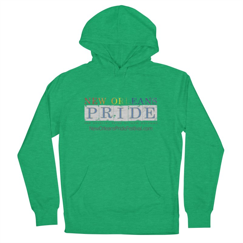 New Orleans Pride Logo ™ Men's French Terry Pullover Hoody by New Orleans Pride