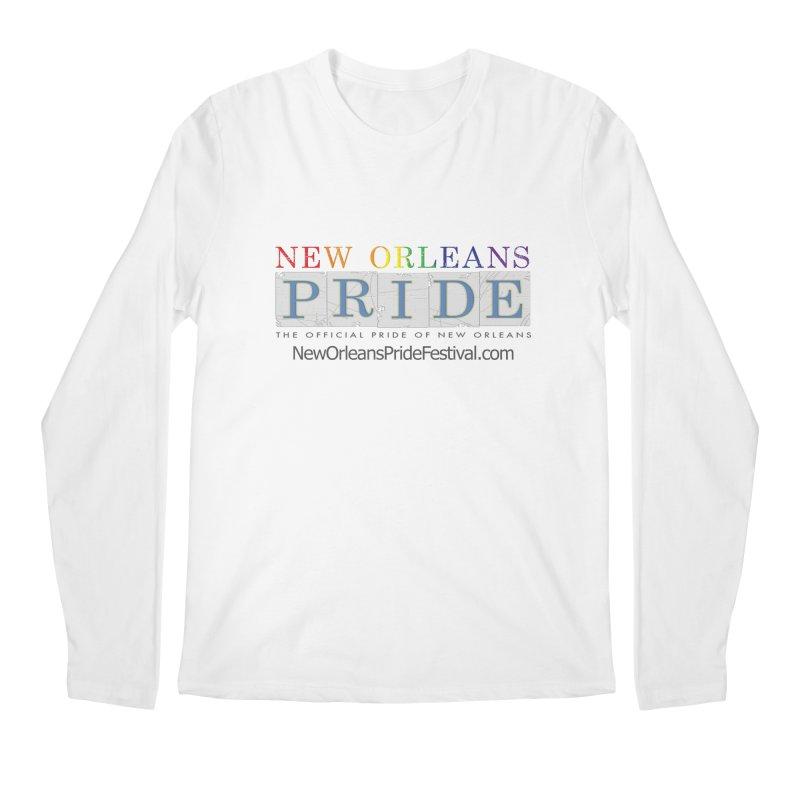 New Orleans Pride Logo ™ Men's Regular Longsleeve T-Shirt by New Orleans Pride