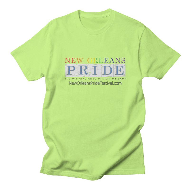 New Orleans Pride Logo ™ Men's T-Shirt by New Orleans Pride