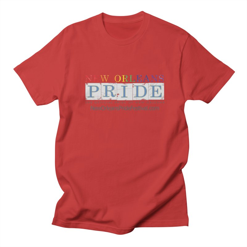 New Orleans Pride Logo ™ Women's Regular Unisex T-Shirt by New Orleans Pride