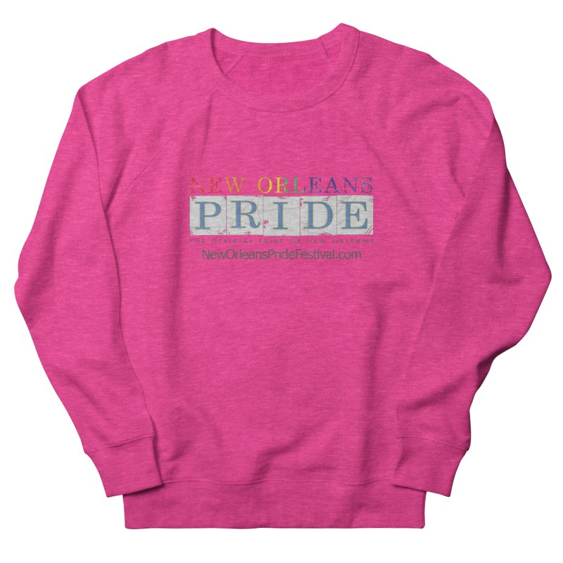 New Orleans Pride Logo ™ Women's French Terry Sweatshirt by New Orleans Pride