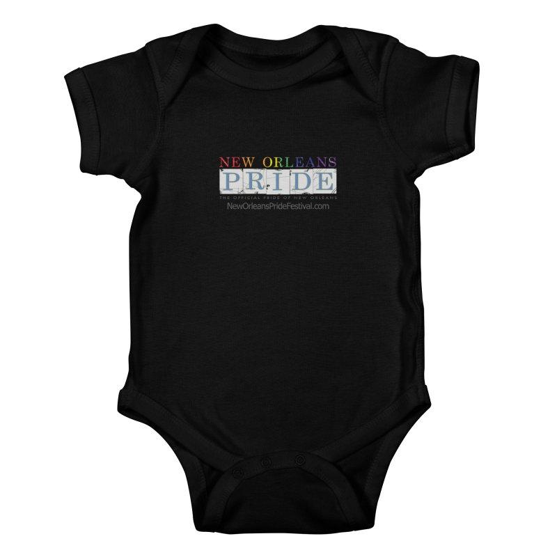 New Orleans Pride Logo ™ Kids Baby Bodysuit by New Orleans Pride