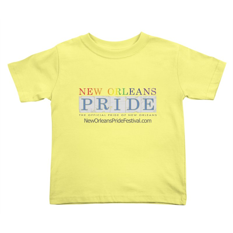 New Orleans Pride Logo ™ Kids Toddler T-Shirt by New Orleans Pride