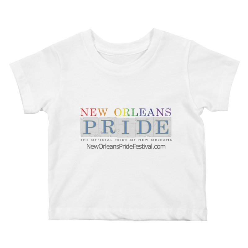 New Orleans Pride Logo ™ Kids Baby T-Shirt by New Orleans Pride