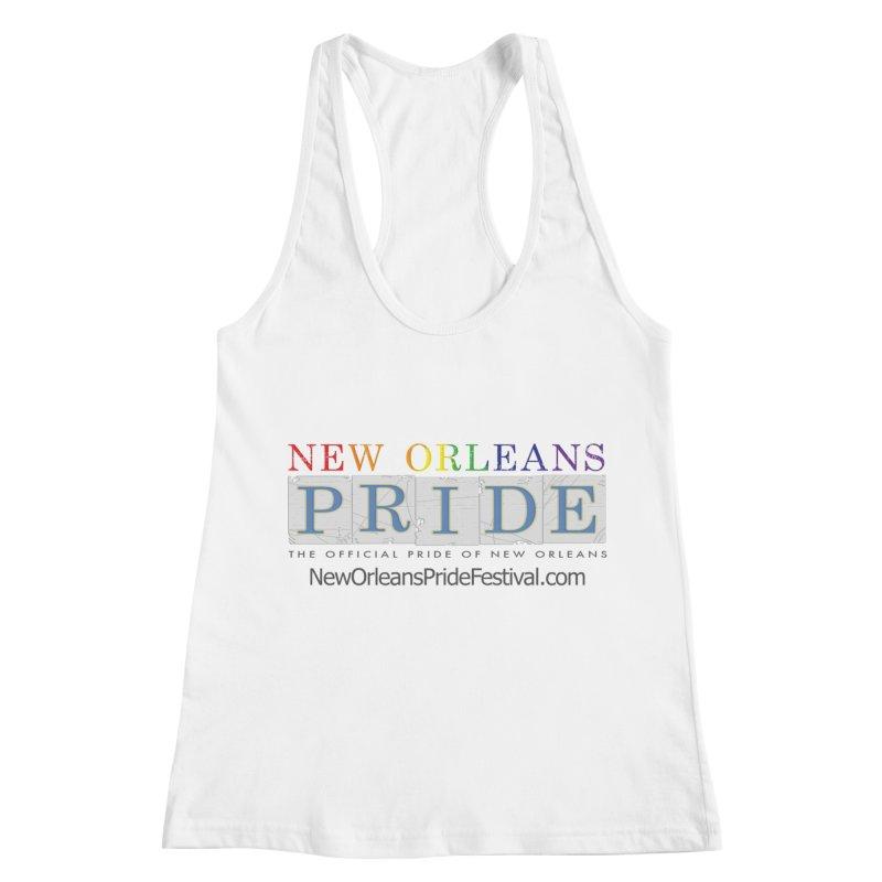 New Orleans Pride Logo ™ Women's Racerback Tank by New Orleans Pride