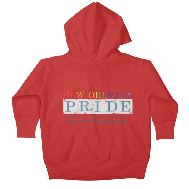 New Orleans Pride Logo ™ Kids Baby Zip-Up Hoody by New Orleans Pride