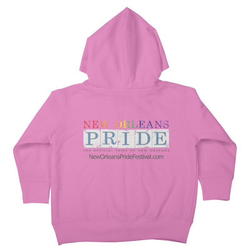 New Orleans Pride Logo ™ Kids Toddler Zip-Up Hoody by New Orleans Pride