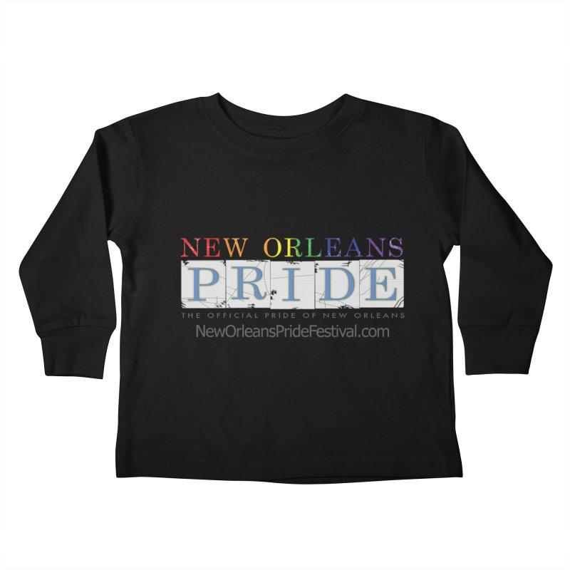 New Orleans Pride Logo ™ Kids Toddler Longsleeve T-Shirt by New Orleans Pride