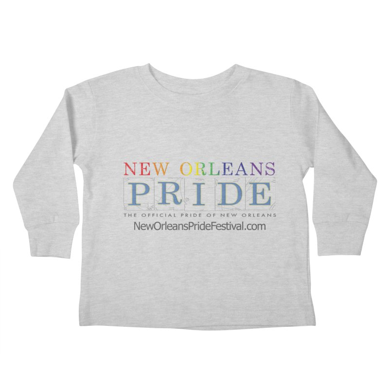 New Orleans Pride Logo ™ Kids Toddler Longsleeve T-Shirt by New Orleans Pride
