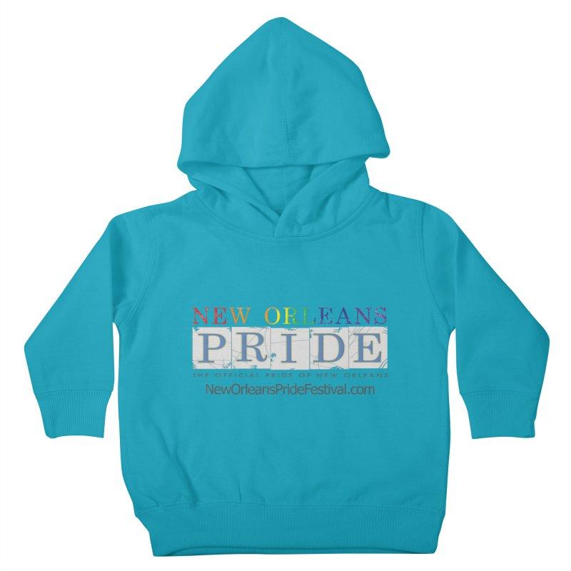New Orleans Pride Logo ™ Kids Toddler Pullover Hoody by New Orleans Pride
