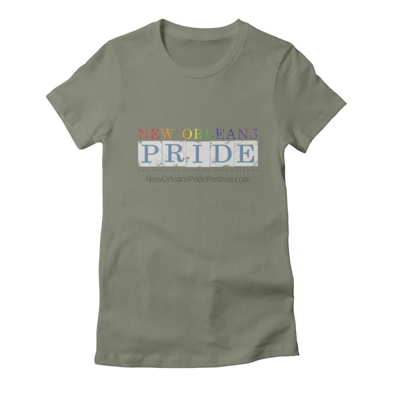 New Orleans Pride Logo ™ Women's Fitted T-Shirt by New Orleans Pride