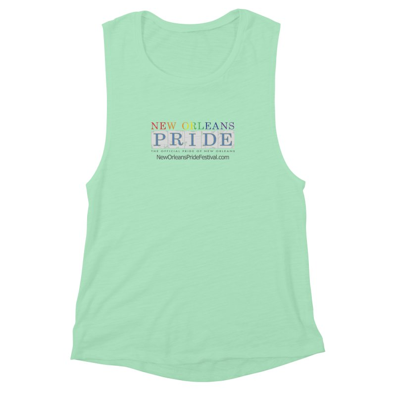 New Orleans Pride Logo ™ Women's Muscle Tank by New Orleans Pride
