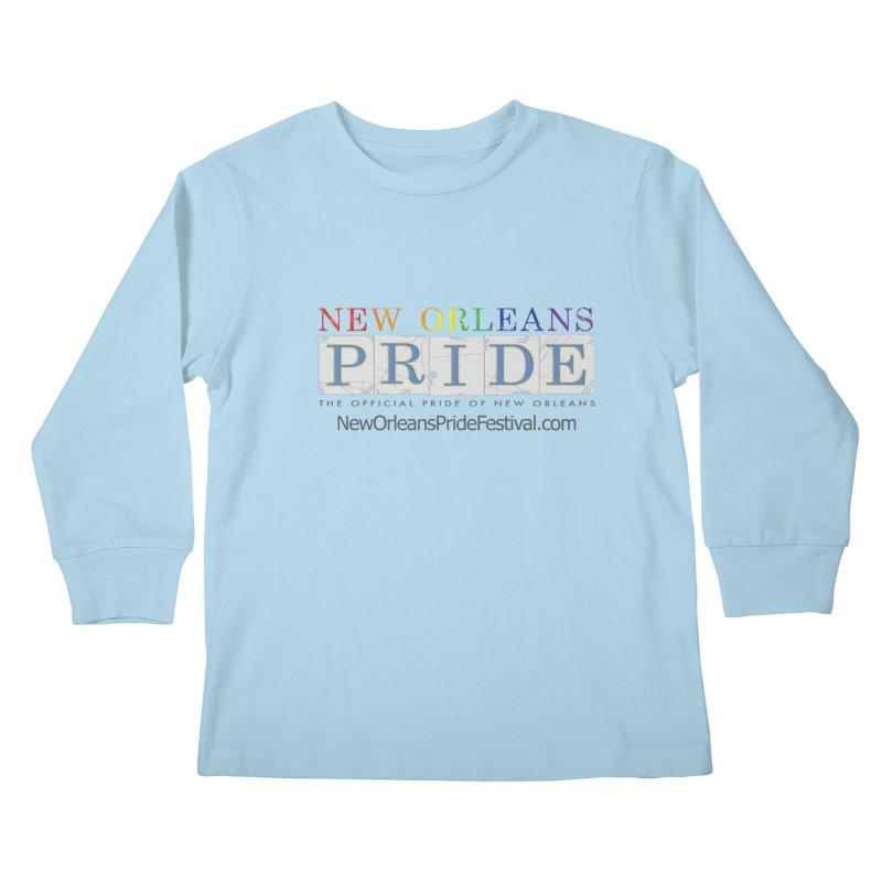 New Orleans Pride Logo ™ Kids Longsleeve T-Shirt by New Orleans Pride