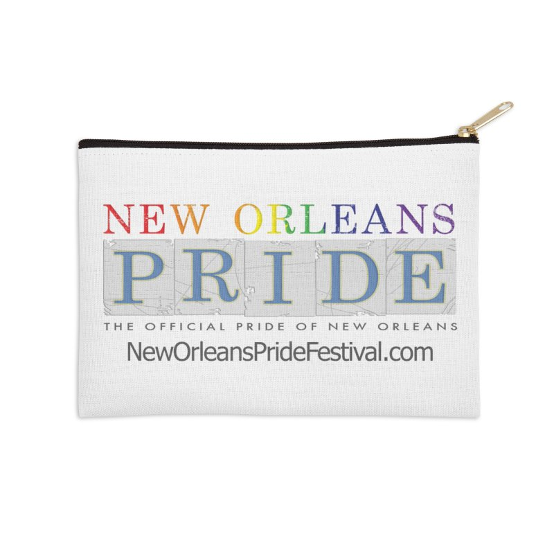 New Orleans Pride Logo ™ Accessories Zip Pouch by New Orleans Pride