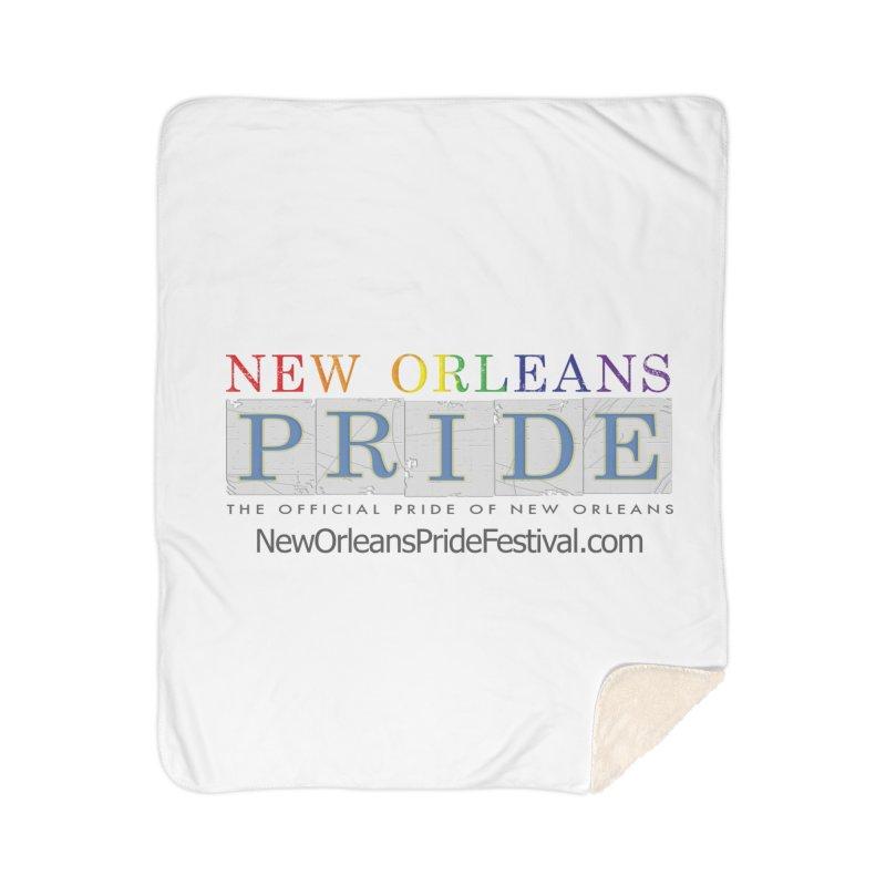 New Orleans Pride Logo ™ Home Sherpa Blanket Blanket by New Orleans Pride