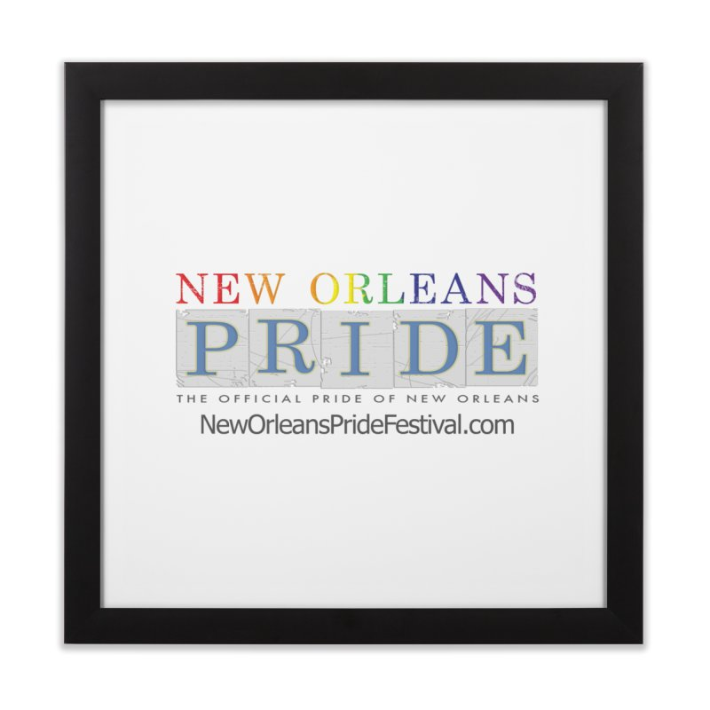 New Orleans Pride Logo ™ Home Framed Fine Art Print by New Orleans Pride