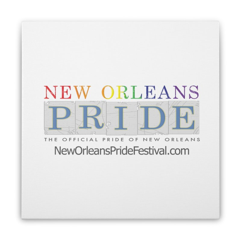 New Orleans Pride Logo ™ Home Stretched Canvas by New Orleans Pride