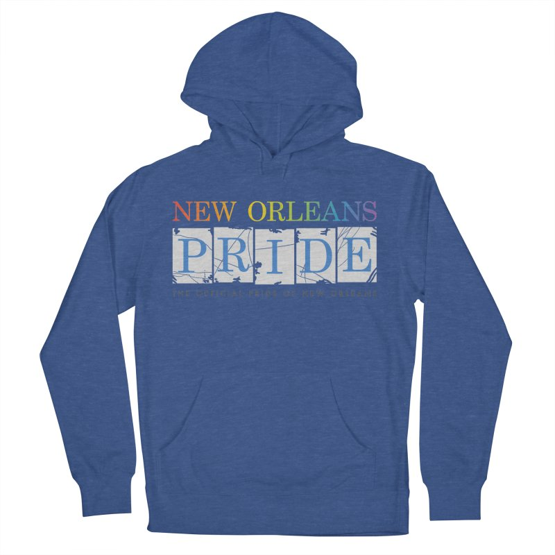 2017 logo items Women's French Terry Pullover Hoody by New Orleans Pride