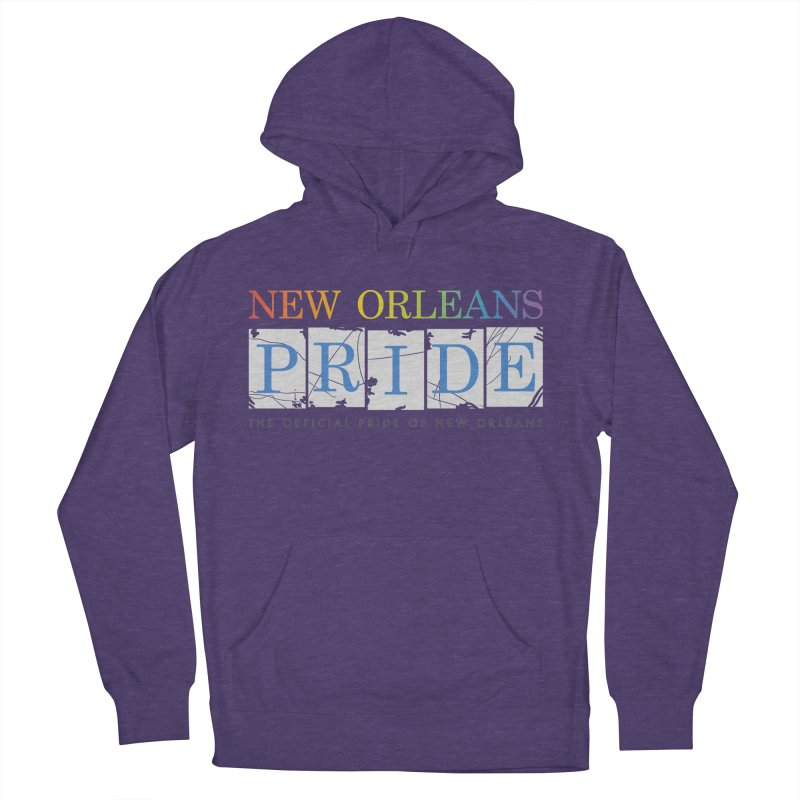 2017 logo items Men's French Terry Pullover Hoody by New Orleans Pride