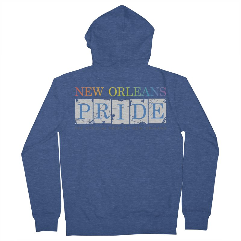 2017 logo items Women's French Terry Zip-Up Hoody by New Orleans Pride
