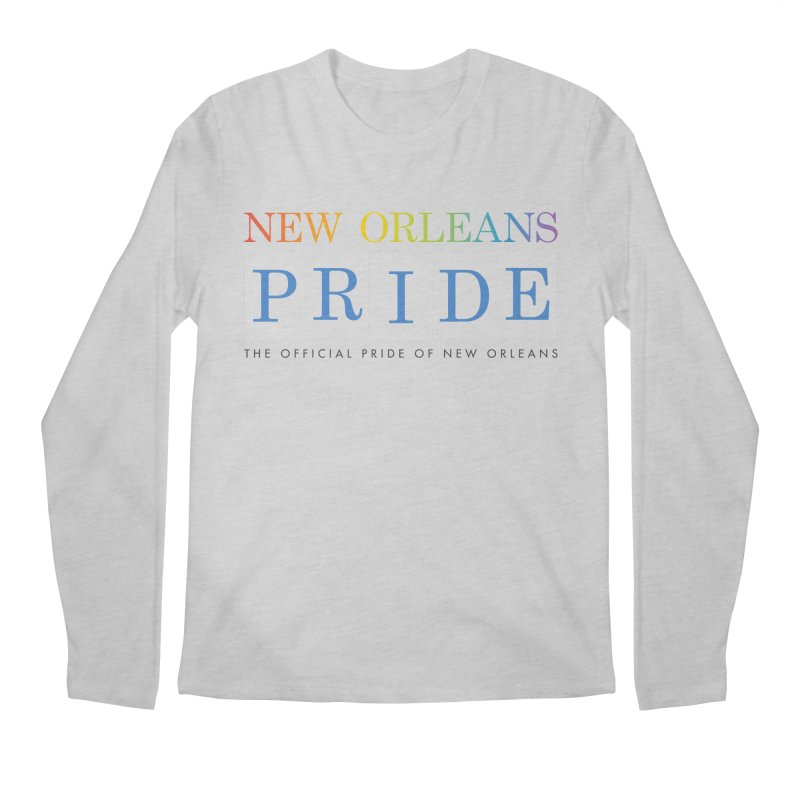 2017 logo items Men's Regular Longsleeve T-Shirt by New Orleans Pride
