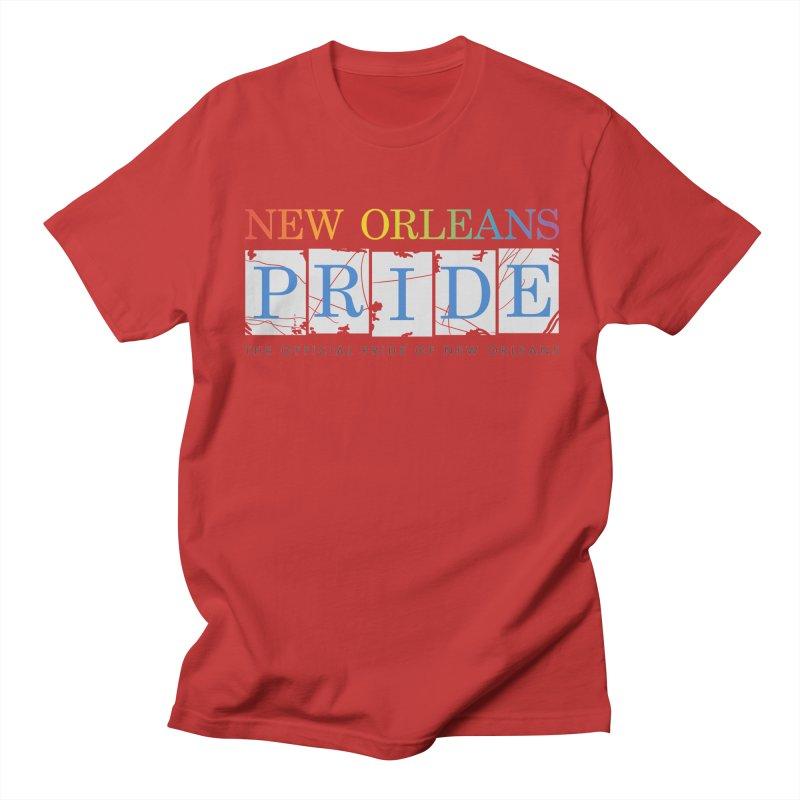 2017 logo items Men's Regular T-Shirt by New Orleans Pride