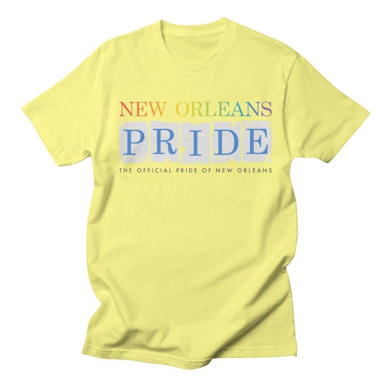 2017 logo items Women's Regular Unisex T-Shirt by New Orleans Pride