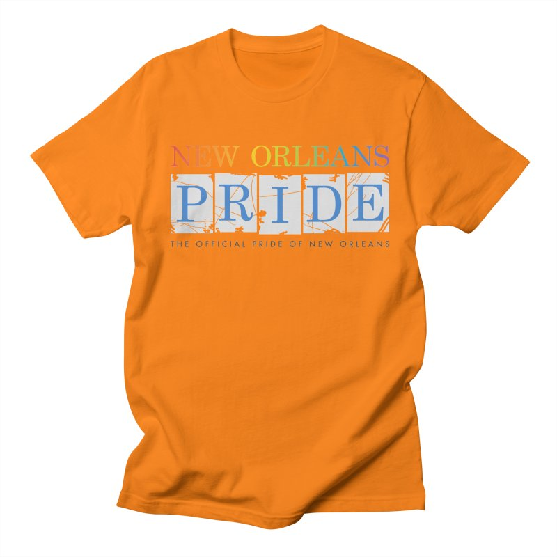 2017 logo items Men's Regular T-Shirt by New Orleans Pride