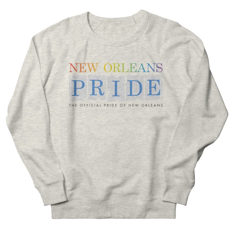 2017 logo items Women's French Terry Sweatshirt by New Orleans Pride