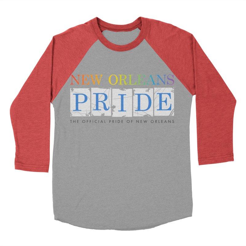 2017 logo items Men's Baseball Triblend Longsleeve T-Shirt by New Orleans Pride
