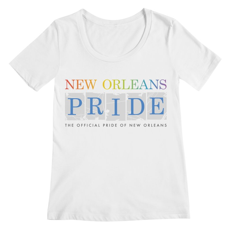 2017 logo items Women's Regular Scoop Neck by New Orleans Pride