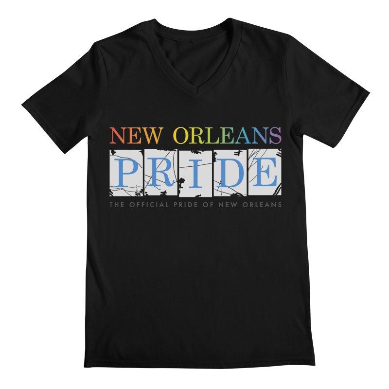 2017 logo items Men's Regular V-Neck by New Orleans Pride