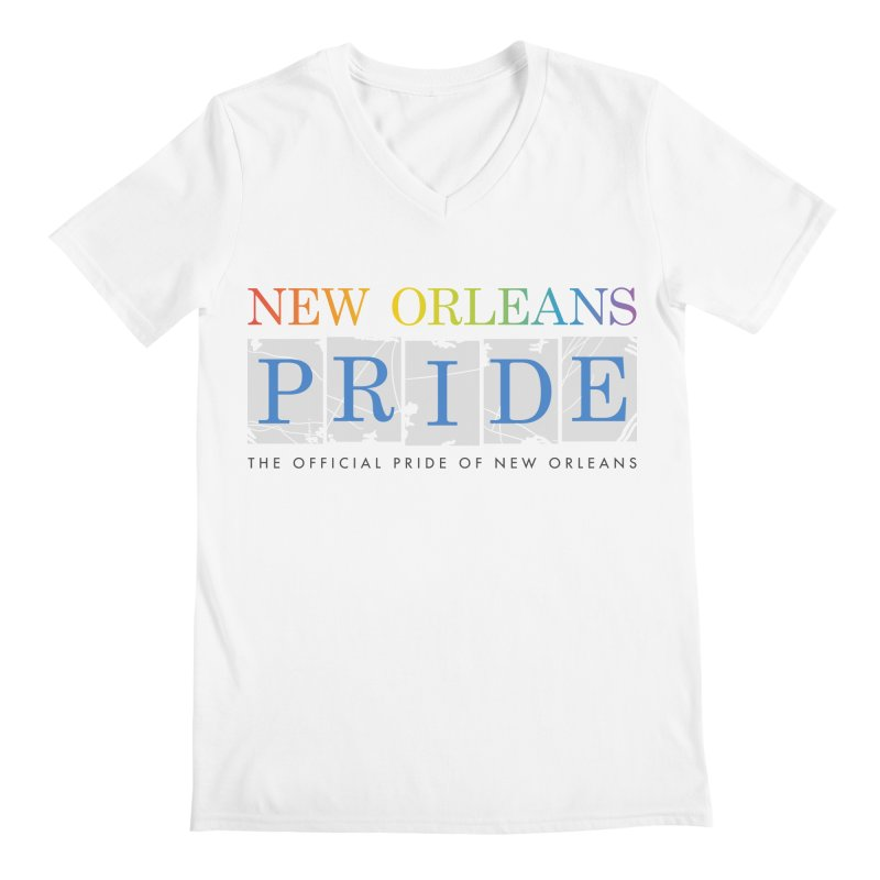 2017 logo items Men's V-Neck by New Orleans Pride
