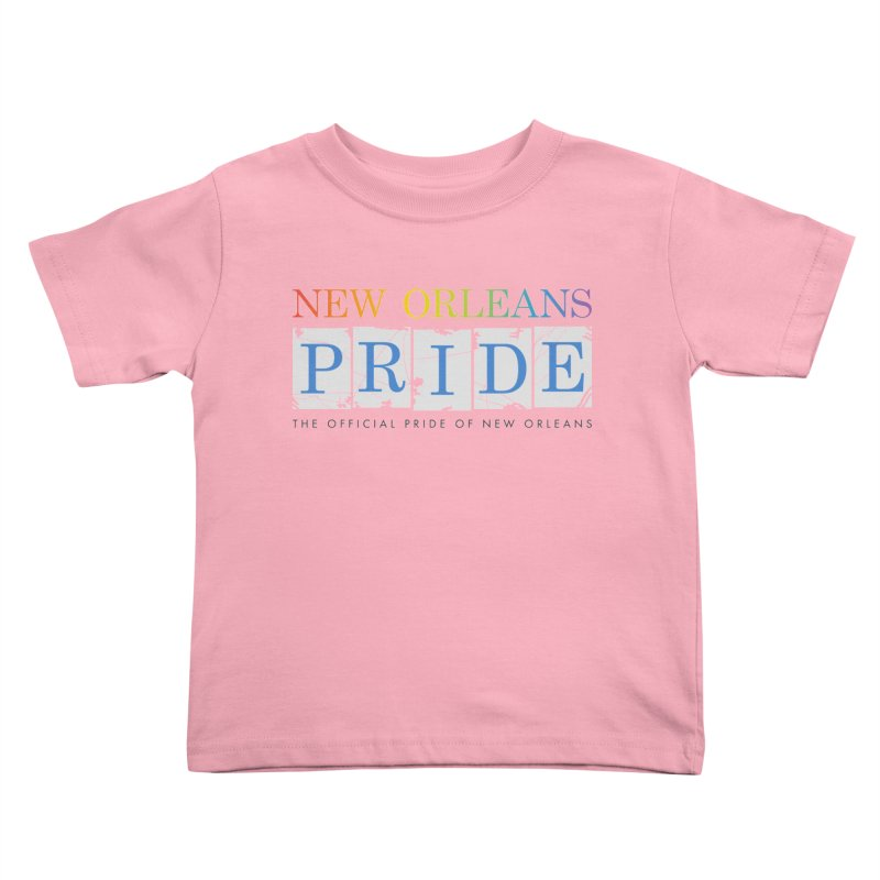 2017 logo items Kids Toddler T-Shirt by New Orleans Pride