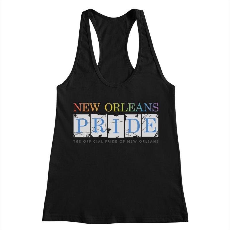 2017 logo items Women's Racerback Tank by New Orleans Pride