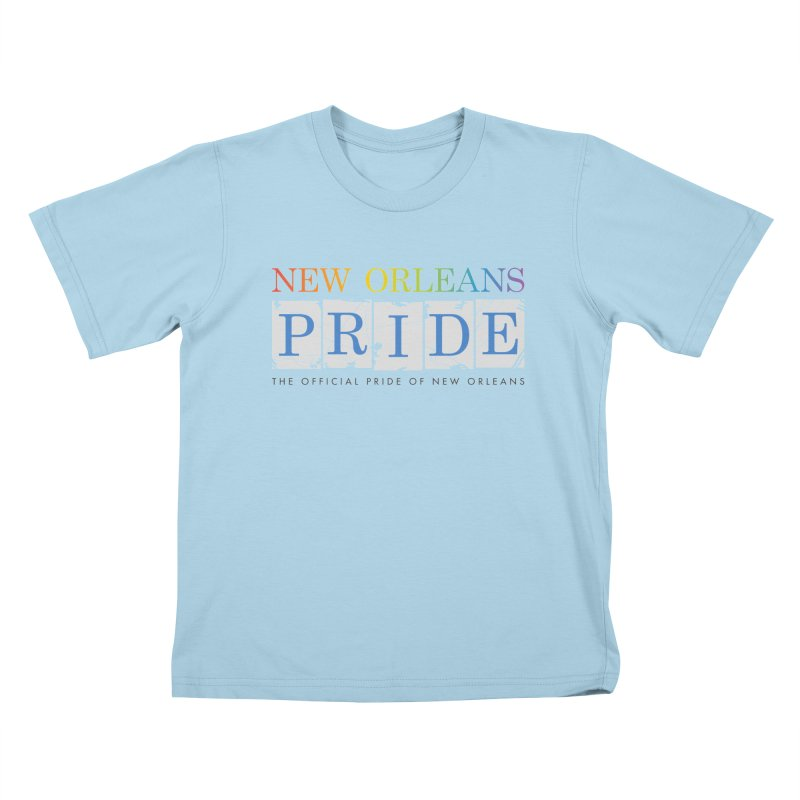 2017 logo items Kids T-Shirt by New Orleans Pride