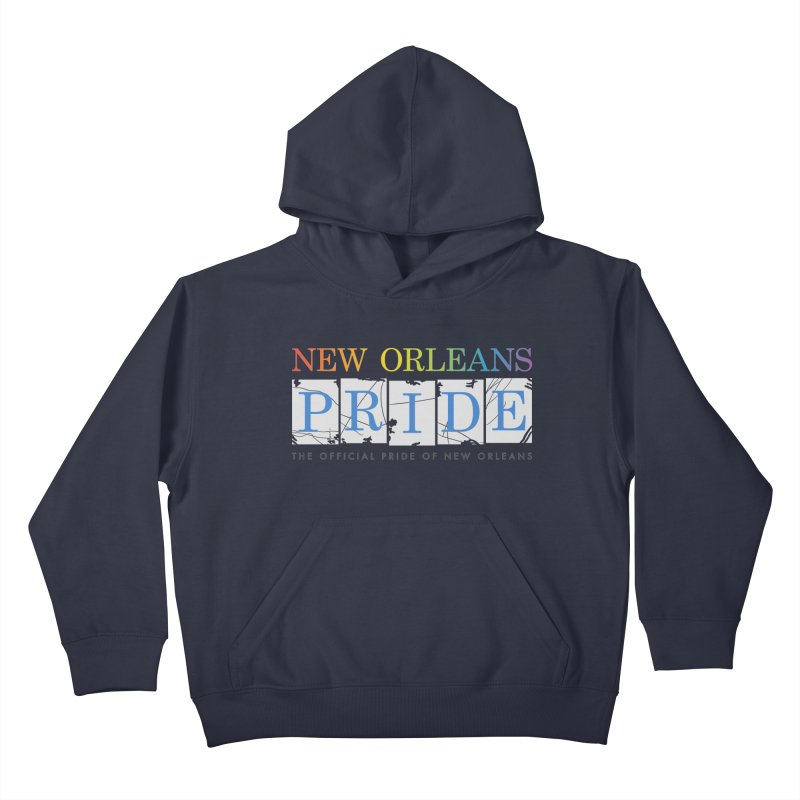 2017 logo items Kids Pullover Hoody by New Orleans Pride