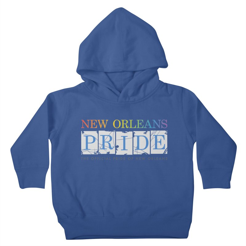 2017 logo items Kids Toddler Pullover Hoody by New Orleans Pride