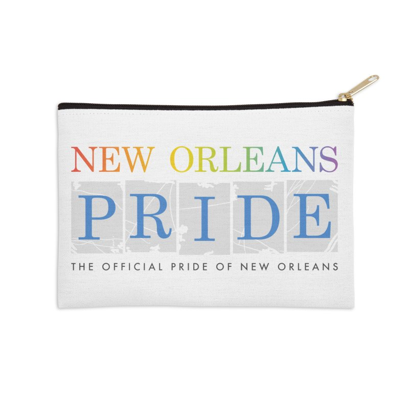 2017 logo items Accessories Zip Pouch by New Orleans Pride