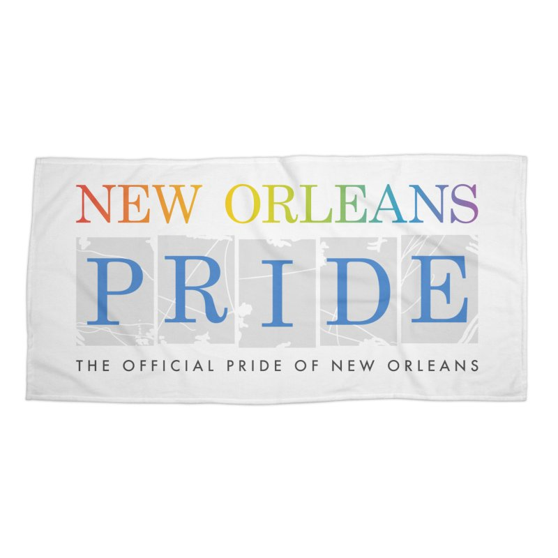 2017 logo items Accessories Beach Towel by New Orleans Pride